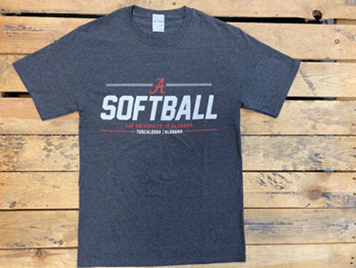 Alabama Softball Short Sleeve Tee
