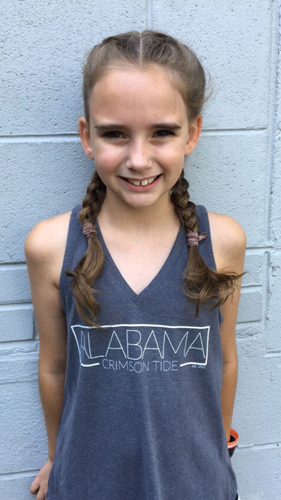 Youth Alabama Boutique V-Neck Tank
