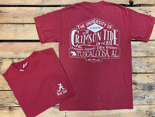 Alabama Compadres Short Sleeve Pocket Tee