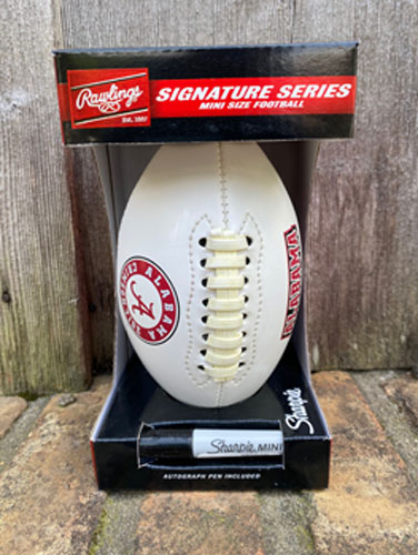 Alabama Mini Autograph Football