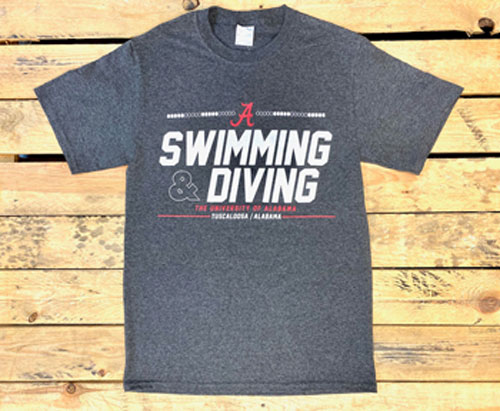 The University of Alabama Swimming & Diving Short Sleeve T-Shirt
