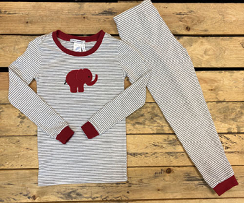 2 Piece Elephant Pajama Set