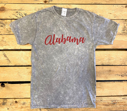 Alabama Mineral Dye Short Sleeve Tee