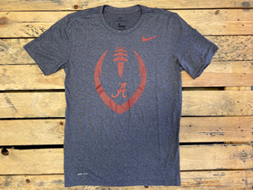 Alabama Crimson Tide Nike Performance Football Icon Legend T-Shirt