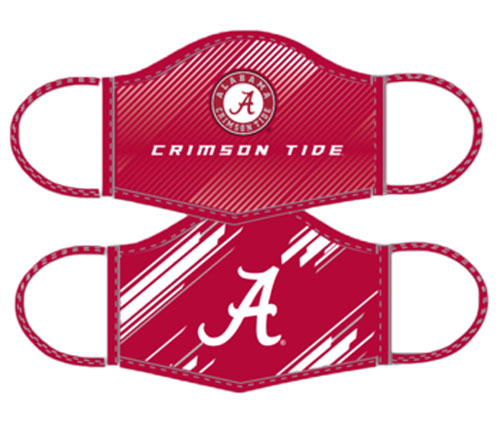 Youth Alabama Facemasks- 2pack