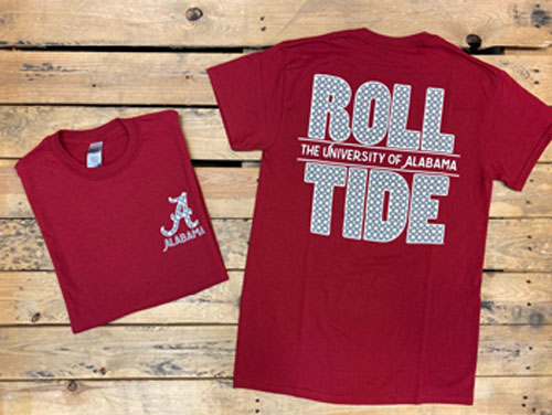 Roll Tide Polka Dot Short Sleeve T-Shirt