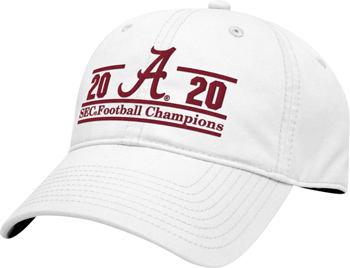 2020 SEC Champions Unstructured Cap - White